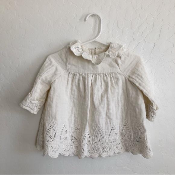 87bdb64855690 H&M Dresses | Hm Baby Girl Ruffle Collar Dress With Bloomers | Poshmark